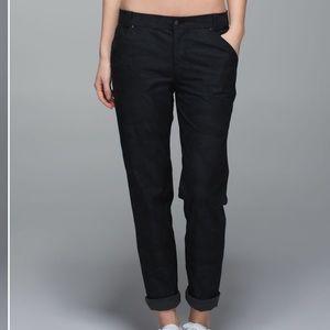 Lululemon black Daytime Boyfriend pants